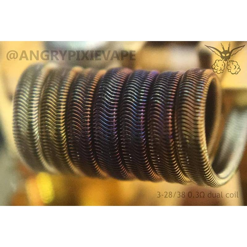 Angry Pixie Handmade Coils